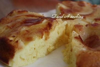 りんご蒸しケーキ フライパンで作る簡単レシピ