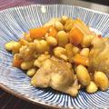 21/07/14 鶏肉と大豆とキムチの煮もの