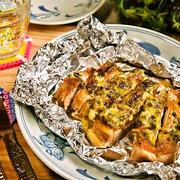 ワサビがポイント!ご飯どろぼうな鶏の葱マヨ焼き♪