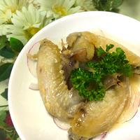鶏手羽先のお酢煮☆カンタン酢だけで♬