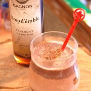 メープルシロップとラム酒が決めて!大人のホットチョコレート
