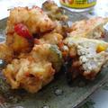 ねぎ塩味の天ぷら