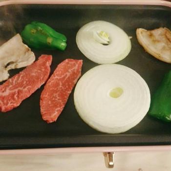 BURUNO(ブルーノ)で焼肉、スルメと大根の煮物
