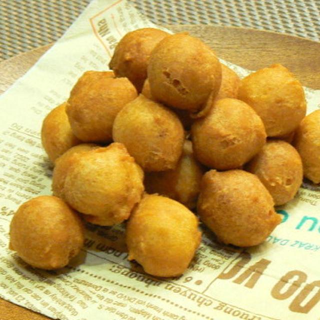 【うちレシピ】しょうが湯で作るカリ&フワ豆腐ドーナツ