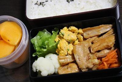 9月25日  鶏ヤゲンの甘辛炒め弁当