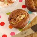 卵とバターなしの無花果&プルーンマフィン