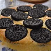 バニラ香るオレオのチーズケーキ♪