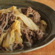 簡単♪牛肉と白菜のすき焼き風
