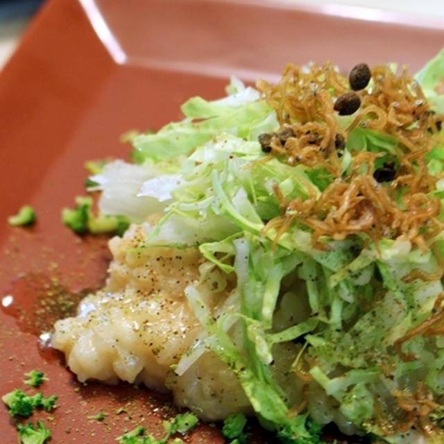 昆布水で作る白菜の薬膳リゾット~美肌仕立て山椒風味~