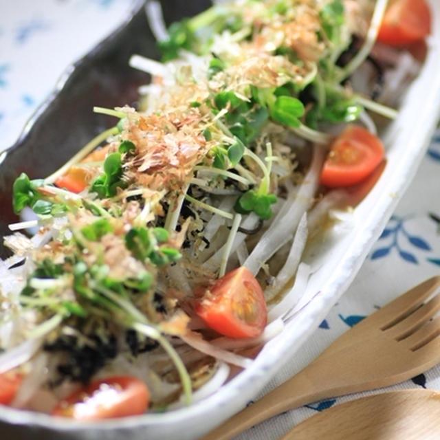 長崎産ひじきと大根の梅風味サラダ