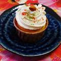 今日のイチオシ朝ごはんに掲載☆アレンジできるしっとりカップケーキ♪☆♪☆♪