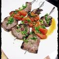 ★牛肉とトマトのハーブ串焼★ by みみこさん