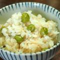 グリンピースの豆ご飯 by サカモトユイさん