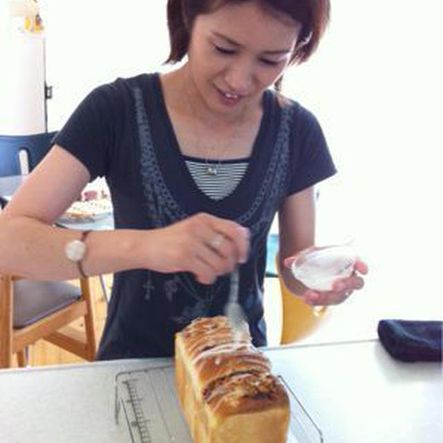 パン教室(オレンジチーズ食パン)
