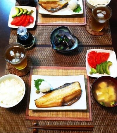 和食と夏レシピ☆