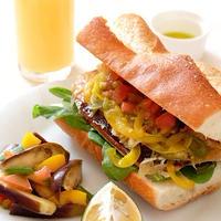 鯖の干物でサンドイッチ | FUJIFILM X-M1で撮る美味しい写真