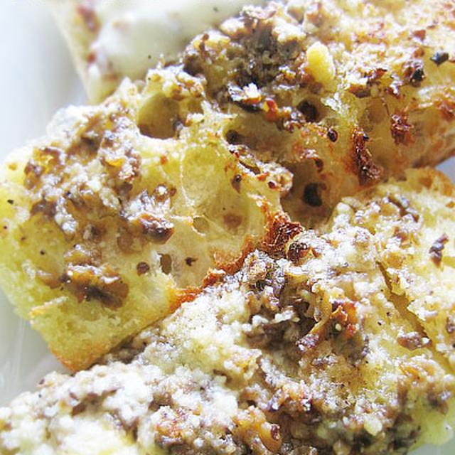 濃厚★マッシュルームバタートースト