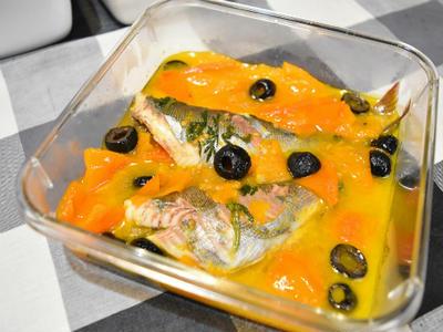 あるものでアクアパッツァ。作っておけばすぐ食べられる簡単おつまみ。