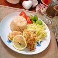カレー風味のポークピカタ ~ パルミジャーノ入り卵も美味しい♪ by mayumiたんさん