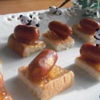 相性抜群♪焼いて美味しいチーズ&ベーコンとママレードのカリカリ☆トースト乗せ♪