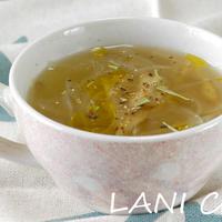 玉葱ごぼうスープ