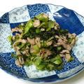 『長野』古漬けと豚肉の炒め物 by 薫さん