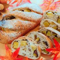 ホクホク♡さつま芋と胡麻のフランスパン♪