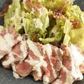 ローストビーフ!わさびマヨネーズソースで野菜もおいしく!