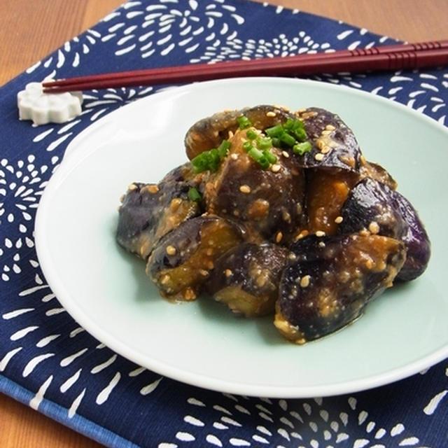 ご飯がすすむ常備菜 * なすの花椒味噌炒め
