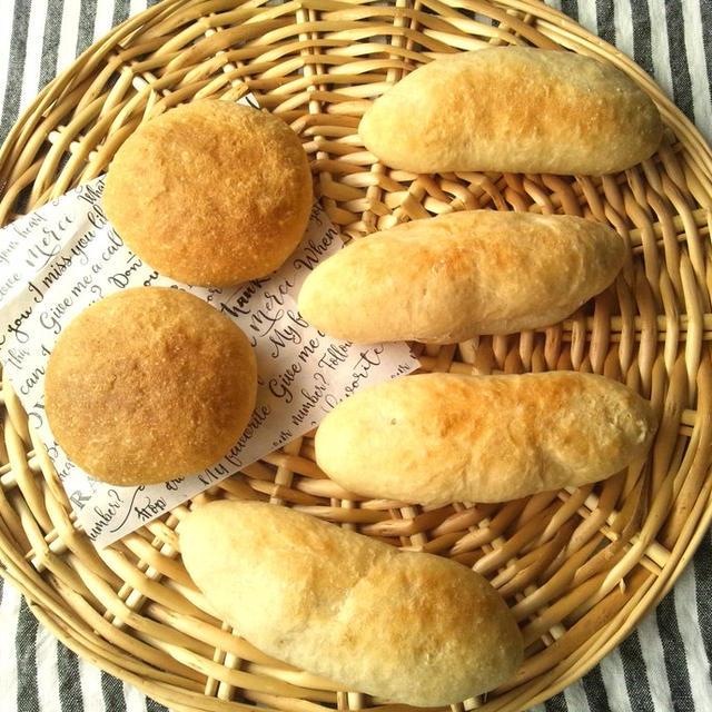 サンドイッチ、バーガー用のパン 全粒粉使用