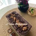 Guluten free vegan marron cake