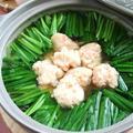 ふわふわ海老団子と韮のヘルシー鍋