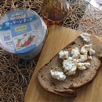 雪印北海道100カッテージチーズdeハニートースト