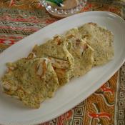 イカと長芋のふんわりパセリ焼き