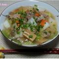 筑前煮で広東麺 by 杏さん