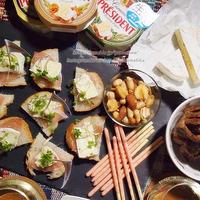 #プレジデントカーマンベールチーズ de おうちパーティ