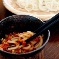 簡単!時短!トマトレシピ・・つけ麺♪