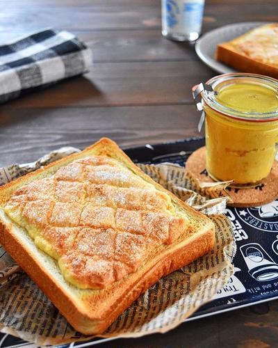 「あさイチ」塗るだけ!簡単!メロンパントースト*簡単節約作りおきレシピ10
