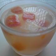 おやつ  『ナタデココいりフルーツ寒天』