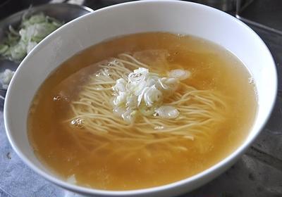 主夫的昼飯:煮干しラーメン(自作)