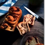 セミドライ林檎と餡子のグルグルなミニ食パンと登りたいお年頃!?
