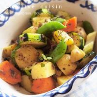 野菜王国のポテト&スナップエンドウの美味しいサラダ