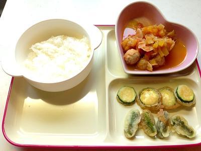 幼児食11dお昼ご飯