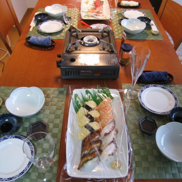 お祝い おでんとお寿司