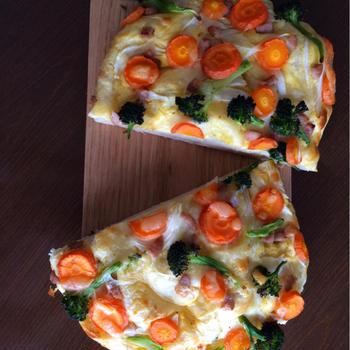 野菜フォカッチャとプチバゲット