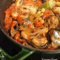 【キレイママレシピ】秋刀魚と色々お豆のトマト煮込み by Ayaccoさん