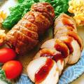 【漬け込みチャーシュー】豚ロースのほうじ茶煮豚