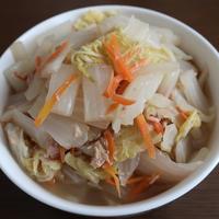 白菜とシーチキン缶のクタクタ煮