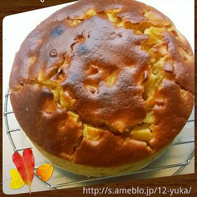シナモン香る♡りんごパウンドケーキ