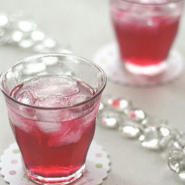 アンチエイジング!な赤紫蘇ジュース